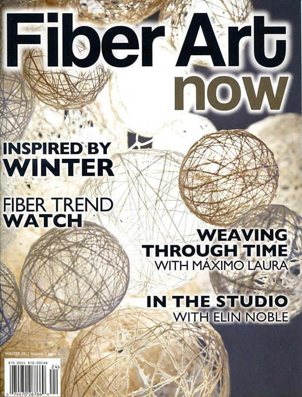Fiber Arts Now Cover